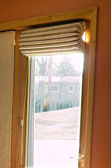 High Quality Insulated Roman Shades. Image Number 10 Of Patio Doors Insulation ...